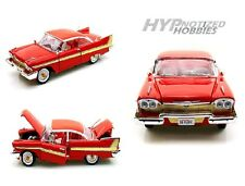 MOTOR MAX 1:18 1958 PLYMOUTH FURY DIECAST RED 73115AC-RD