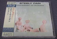 "STEELY DAN ""COUNTDOWN TO ECSTASY"" JAPAN SHM-SACD DSD 2016 JEWEL CASE *SEALED*"
