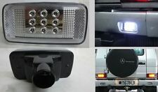 White LED Rear Bumper reverse lamp Clear Fits Mercedes Benz G Class w463