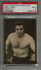 1973 Wrestling Annual #6 Fred Curry Hand Cut PSA 9 MINT Card