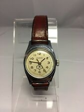 VINTAGE TIMEX 1970ish LADIES GIRL SCOUT GIRL SCOUT BROWNIE WATCH