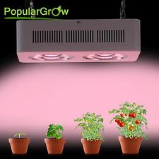 Full Spectrum 400W Integrated LED Grow Light  COB Reflector Plant Growth Flower
