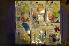 Lot of 6   THE SIMPSONS Action Figures MARGE,HOMER,BART,BARTMAN,MAGGIE,NELSON