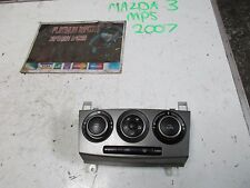 mazda 3 mps 2007 2.3 turbo aero interior heater control console unit