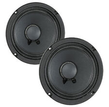 """Pair Eminence Beta-8A 8"""" Midrange/PA Driver-Replacement Speaker"""
