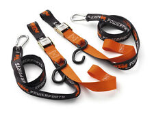 BRAND NEW KTM POWER PARTS SOFT TIE DOWNS WITH CLIPS U6910047