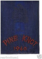 Louisiana College Pineville 1940 Pine Knot Yearbook Annual