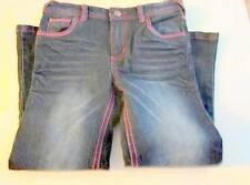 Girls Jeans 5T Blue Distressed Flare Leg Wonder Kids