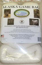 "Alaska Game Bags 48"" Rolled Quarter Bags For Deer Sheep Antelope 4-pack DCS448"