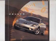 2001 TOYOTA T230 CELICA US Brochure includes GT and GT-S