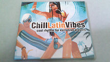 "CD ""CHILL LATIN VIBES"" CD 16 TRACKS DIGIPACK COMO NUEVO"