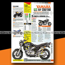 ★ YAMAHA XJR 1200 / 1300 ★ Article Fiche Moto Guide Achat Occasion #a1089