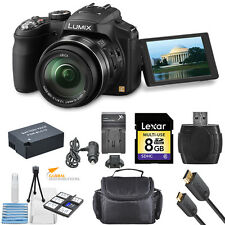Panasonic Lumix DMC-FZ200 Digital Camera!! Bundle Kit!! Brand New!!