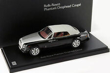 Rolls Royce Phantom Drophead Coupe Year Of Construction 2012 black 1:43 Kyosho