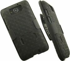 New Black Belt Clip Case Shell Holster + Stand for MOTOROLA DROID MAXX XT1080M