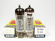 MATCHED PAIR NOS EL84-6BQ5-VALVO-OWN BOX-HEERLEN FACTORY