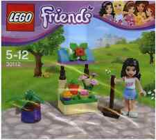 Brand New Lego - Emma & Flower Stand - Friends - 30112 - Polybag Promo