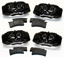 WILWOOD BLACK BRAKE CALIPER & PAD KIT,1997-2013 CORVETTE,C-5,C-6,Z06,SLC56,DPC56