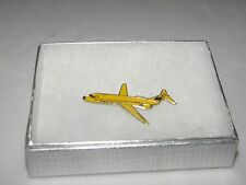 COLLECTABLE HUGHES AIRWEST DC-9 AIRPLANE LAPEL TAC PIN NWA DELTA AIR WEST PILOT