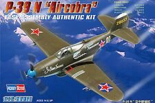 HobbyBoss 80234 - Bell P-39N Airacobra 1:72 Plastic Kit Aircraft - FREE SHIPPING