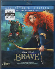 Brave (Blu-ray, 2012, Collector's Edition, blu-ray only) NO DVD!