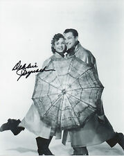 DEBBIE REYNOLDS Signed 10x8 Photo SINGING IN THE RAIN COA