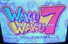 WAKU WAKU 7 USED MVS CARTRIDGE