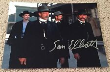 SAM ELLIOTT SIGNED AUTOGRAPH TOMBSTONE ROAD HOUSE 11x14 PHOTO G w/EXACT PROOF
