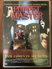 Barbara Crampton PUPPET MASTER ~ Original 1989 Full Moon Cult Horror 1 | UK DVD