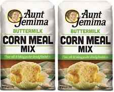 Aunt Jemima Buttermilk Corn Meal Mix 2 Bags of 5 Pounds