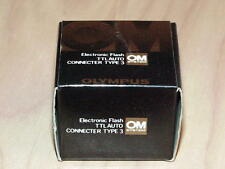 OLYMPUS OM TTL AUTO CONNECTER TYPE 3 FOR OM-2 NEW IN BOX