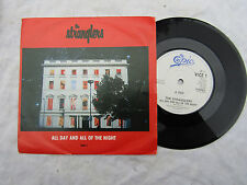 STRANGLERS ALL DAY AND ALL OF THE NIGHT / IVIVA VLAD vice 1 EX... 45rpm