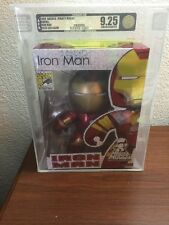 "Marvel Mighty Muggs Iron Man Mugg action figure 6.5"" Hasbro Comic Con AFA 9.25"