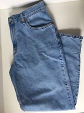 Levis Mom Jeans High Waisted 34 x 32  Vtg 80s 90s Tapered Blue Women's