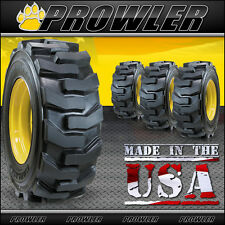 12x16.5 Ultra Guard Skid Steer Tires and Wheels - Set of 4 Carlisle, John Deere