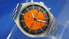 Vintage 1970s Seiko Automatic Chronograph Watch For Repair 6138-3000 Eye Catchin