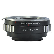 Sony Alpha Minolta AF A-type Lens to Sony NEX E-Mount Camera Lens Adapter Ring