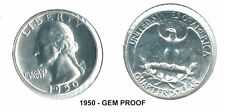 Us Mint 1950 Proof Quarter - Very Nice! - Free Shipping - Make Us an Offer!