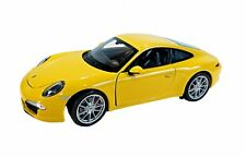 Porsche 911 (991) Carrera S gelb Welly 1:24
