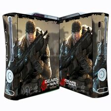 NEW GEARS OF WAR decal Sticker Skin cover case for xbox360 Console wy86
