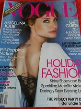 VOGUE MAGAZINE DECEMBER 2010 ANGELINA JOLIE HOLIDAY FASHION