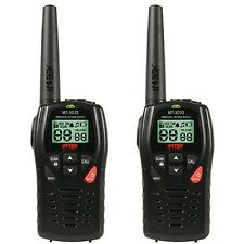 Walkie Talkies CB radio INTEK Mt 3030 doble banda pmr 446 LPD 433 (par)