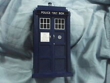DOCTOR WHO ELECTRONIC LIGHT + SOUND TARDIS FOR 5 1/2 INCH FIGURES BLACK WINDOWS