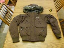 The North Face Gotham Jacket Women's XS Brown Warm Very Good Pre Owned Condition