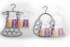 Metal scarf Coat Belt Tie Hanger Storage Rack Wardrobe Organizer Holder Assorted