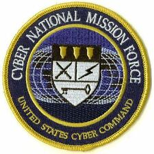 **NEW PATCH! ** CYBER NATIONAL MISSION FORCE