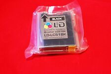 LD-LC51BK Compatible Black Ink Cartridge (Not from Brother)  NIP Sealed