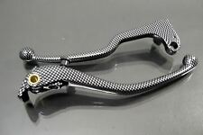 YAMAHA 04-08 R1 R6 05-16 Carbon Brake & Clutch Levers 13 12 11 10 09 08 07 06 05