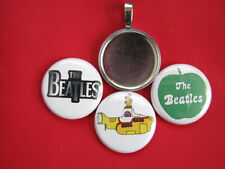 "Beatles changeable Multi-color Pendants Magnetic New  18"" Black  Necklace"