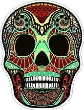 #11 Sugar Skull Sticker Day of the Dead Decal Rockabilly Rock Vintage